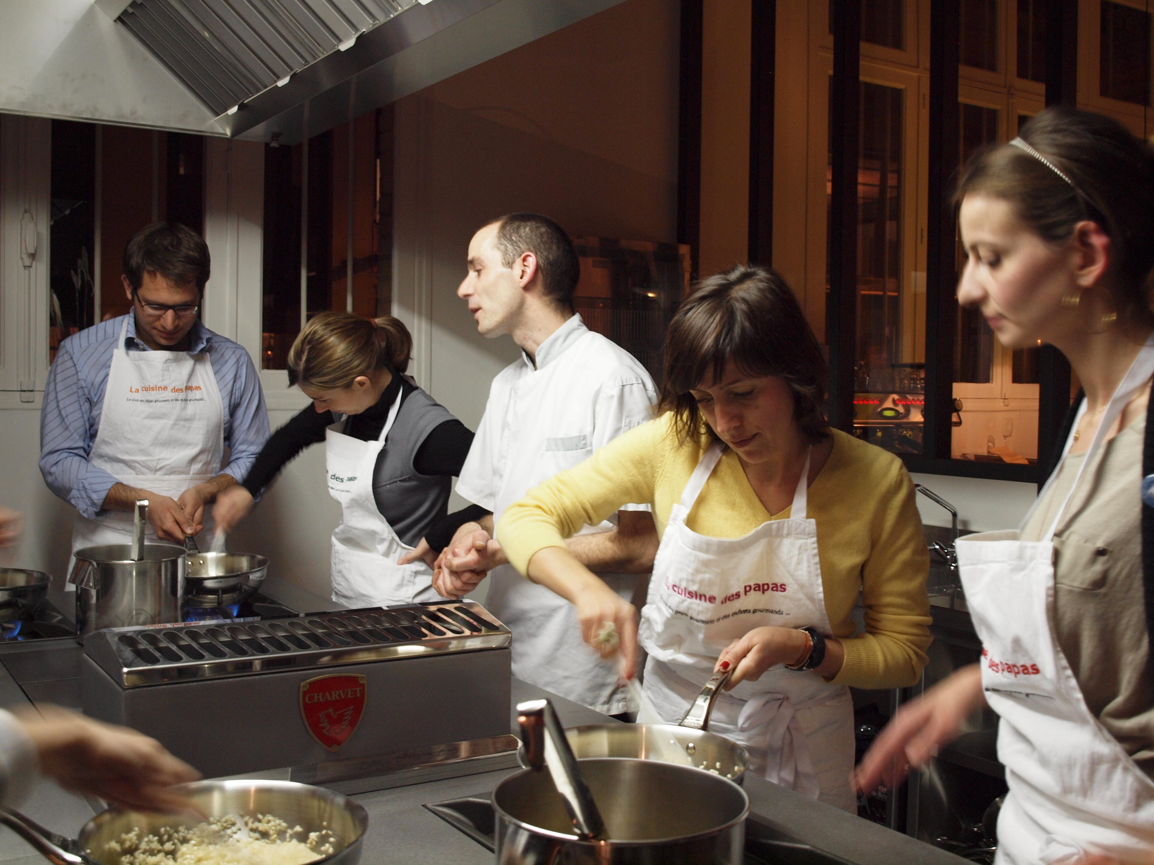 V nement culinaire kitchen studio - Cours de cuisine aphrodisiaque ...