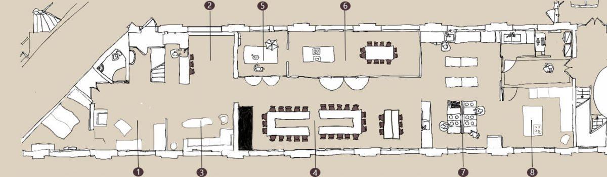 Plan du loft - KITCHEN STUDIO